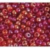 Seedbead 2/0 Transparent Red Aurora Borealis
